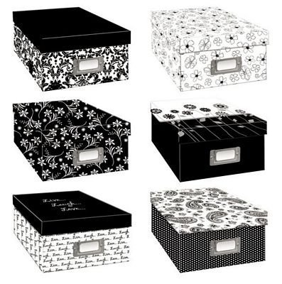 Pioneer Black & White Photo Storage Assorted Designs (Two Pack) by pioneer photo Albaums