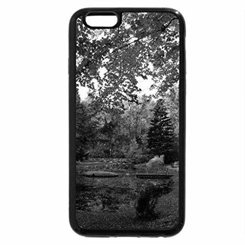 iPhone 6S Plus Case, iPhone 6 Plus Case (Black & White) - Colured Autumn