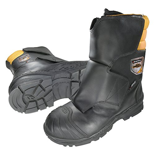 Cofra Forstarbeiter Schnittschutz-Stiefel Strong, Sägeschutz Klasse 3, Größe 44, schwarz, 21470-000