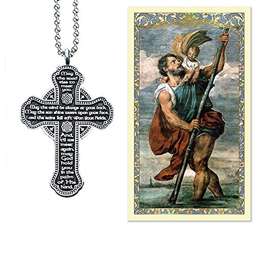 Religious Accessories - Elysian Gift Shop Silver Metal 2.5