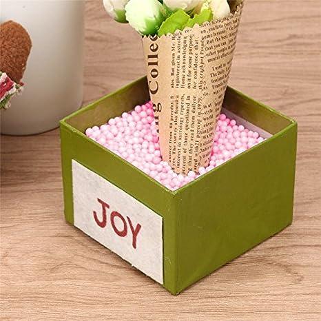 Laat decoraci/ón bolas de espuma de poliestireno multicolor perlas DIY hecha de modelaje 1 2.5-3.5mm