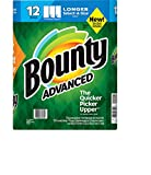 Bounty Advanced Select-A-Size Paper Towels - White - 12 Rolls 117 Sheets each roll