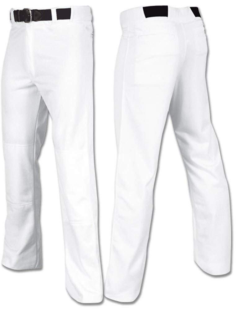 プロスタイル野球パンツ オープンボトム ユースサイズXS~大人サイズ4XL B00HSOGORE Youth Medium (Size 25-27)|ホワイト ホワイト Youth Medium (Size 25-27)