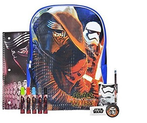 Star Wars Awakens Backpack Supplies