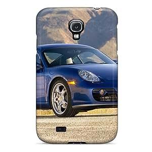 JJBaike SCFvOFX1886hnSoV Case For Galaxy S4 With Nice 2008 Porsche Cayman S Appearance
