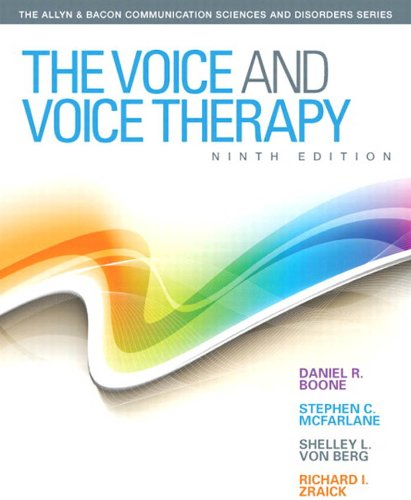 Voice And Voice Therapy The Allyn Bacon Communication Sciences And Disorders Epub