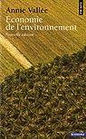 Economie de l'environnement par Vallée