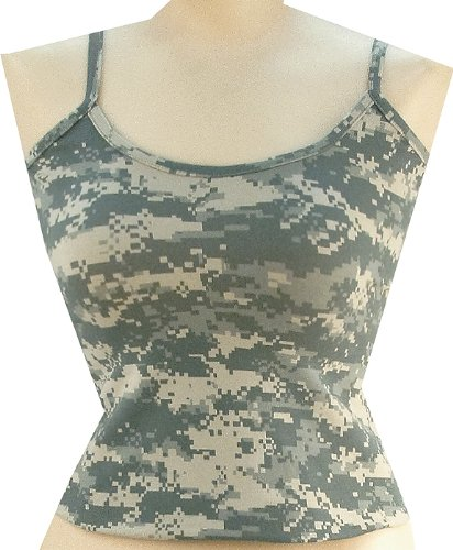 Rothco Women's Casual Tank Top, ACU Digital Camo, Medium (Rothco Sleeveless Tank Top)