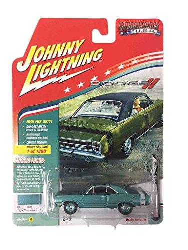 1969 Dodge Dart Swinger Light Turquoise Poly with White Stri