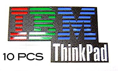 10 pieces of Original IBM Thinkpad Sticker / Badge 16 x 27mm [13x10]