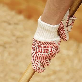 FarmTek Red Dot Grip Gloves - Dozen Pair: Amazon.com