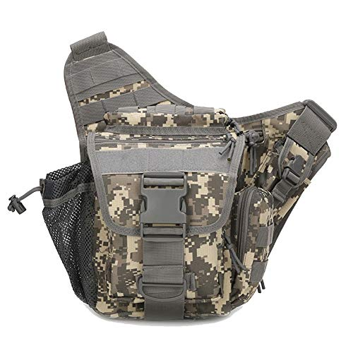 Bag de Crossbody Super Bag de militar de ACU Saddle Saddle hombro Upgrade Acu Tactical Bolso cintura Bag camuflaje Bolso salvaje qxw4EPFxB