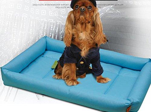 SDCXV Caldo Letto Comfort per Cani Tappetino per Auto Raffreddonnato Raffreddonnato per Animali Domestici Letto Freddo Materassino per Raffreddonnato (Sky-blu, XXL) Grande