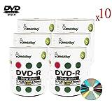 Smartbuy 4.7gb/120min 16x DVD-R Shiny Silver Blank Data Video Recordable Media Disc (6000-Disc)
