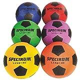 S&S Worldwide Spectrum Lite-80 Soccer Ball Size 4 Set (set of 6)