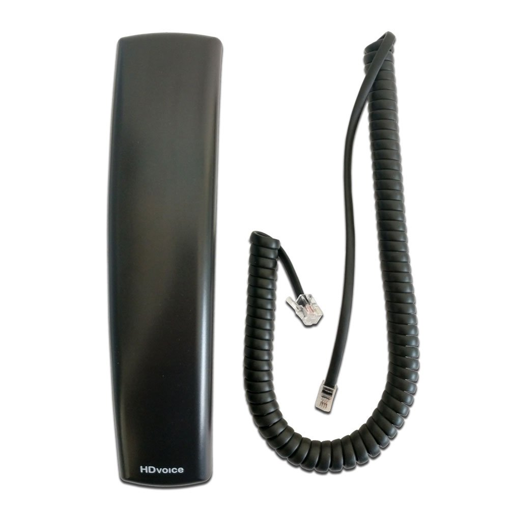 Polycom VVX HD Replacement Handset with 9ft Curly Cord Polycom Inc.