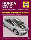 img - for Honda Civic Petrol and Diesel Owner's Workshop Manual: 2006-2012 book / textbook / text book