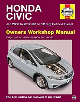 honda civic jan 06 12 haynes repair manual amazon co uk anon rh amazon co uk honda civic 2006 owner manual honda civic 2006 owners manual pdf
