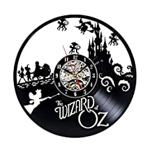 Studio Ghibli Vinyl Record Wall Clock - Decorate your home with Modern Art - Gift for kids, girls and boys - Win a prize for a feedback