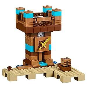 LEGO Minecraft the Crafting Box 2.0 21135 Building Kit (717 Piece)