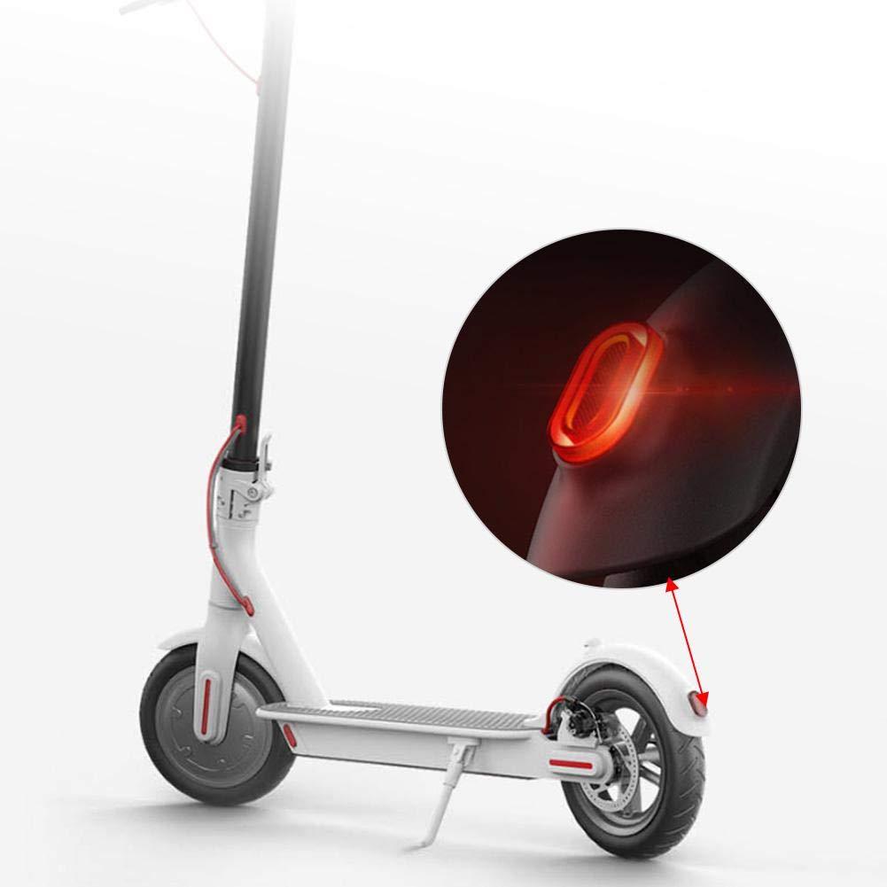 Bnineteenteam Rear Tail Light,Light Stoplight Brake Light Taillight Kit for Xiaomi M365