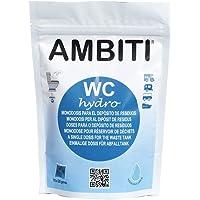 Ambiti Hydro monodosis para el depósito de residuos, Aguas Negras. 15 Pastillas 20m grms.