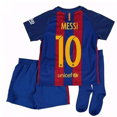 Amazon.com: 2016 – 2017 Barcelona Home Nike Little Boys Mini ...