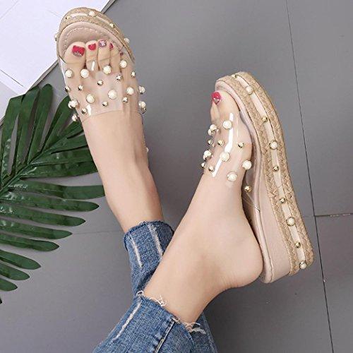 Femme Kaki Slippers Mode Ouverte Strass Escarpin Chaussures Femmes Ouverte Mode a17afe
