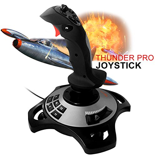 Wired Flight Gamepad Joystick Controller USB for PC Laptop PXN 2113 with Vibration