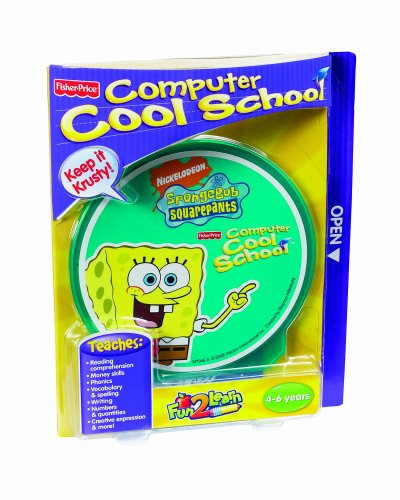Fisher-Price Fun-2-Learn Computer Cool School Sponge Bob - Learn Computer Fun 2