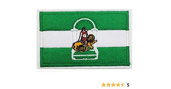 PARCHE bandera andalucia BORDADO PARA PLANCHAR O COSER: Amazon.es: Hogar
