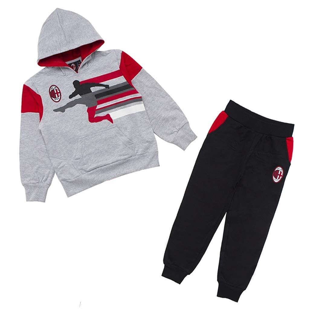 AC Milan - Chándal - para niño Gris M: Amazon.es: Ropa y accesorios