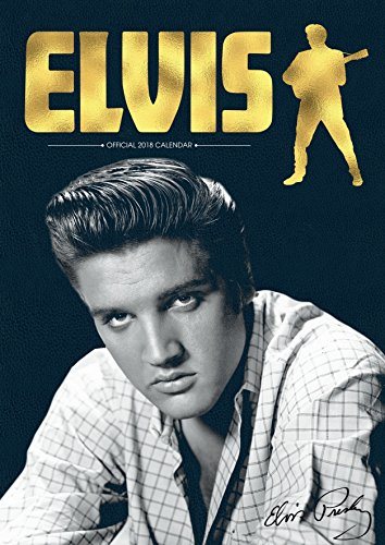 Elvis Official 2018 Calendar - A3 Poster Format Elvis Calendar