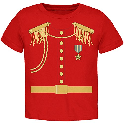 [Halloween Prince Charming Costume Red Toddler T-Shirt - 2T] (Toddler Frog Prince Halloween Costume)