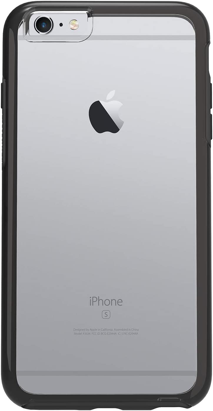 OtterBox Symmetry Series Slim Protective Case for iPhone 6s Plus & iPhone 6 Plus - Non-Retail Packaging - (Black Crystal)
