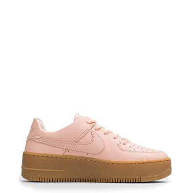 new style ab17f e8ad7 Amazon.com | Nike W Af1 Sage Low Lx Womens Sneakers AR5409 ...