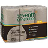 Seventh Generation Natural 100% Unbleached Recycled Paper Towels, 2-Ply, Brown, 6/PK
