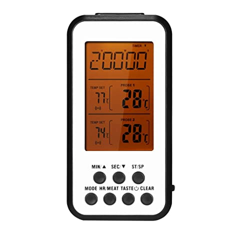 Zitainn Digital Cooking Thermometer Grill Termómetro ...