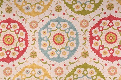 (Discount Fabric Richloom Upholstery Drapery Marmande Spring Medallion OO24 )