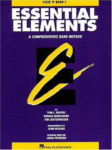Essential Elements: A Comprehensive Band Method, Book 1 - Flute Comprehensive Band Method Book