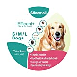 Introduction: Slicemall Flea Dogs Collar can kills and repels fleas and ticks for long lasting 4 months, non-greasy, non-toxic, with highly-effective flea collar, show your protection to your best four-legged friends, dogs, pets. 1)With lon...