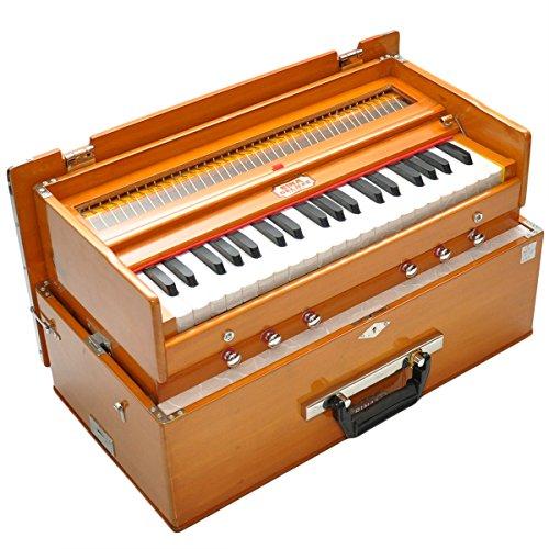 BINA Harmonium | 23b Deluxe 3.25 Octave Kirtan Model Harmonium | Ships from U.S. by Bina