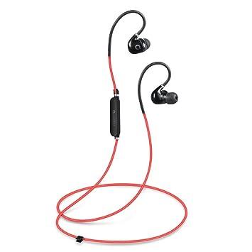 AudioMX Auriculares Deportivos Bluetooth 4,1 con Cancelación ...