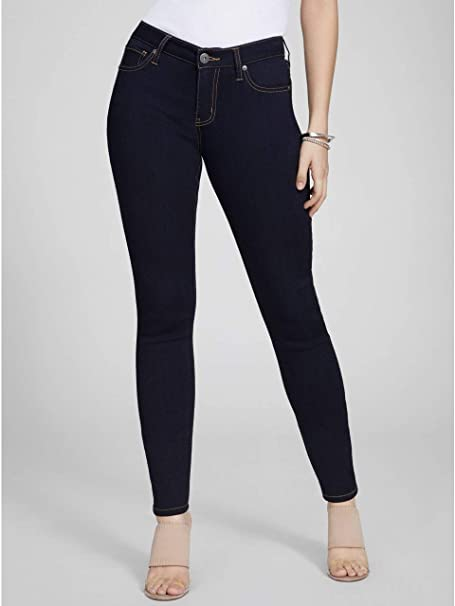 Amazon.com: G by GUESS Helena Ankle Skinny Jeans: Clothing