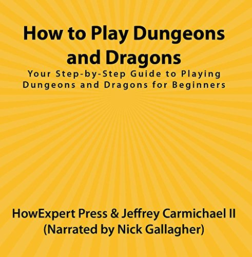 Price comparison product image How to Play Dungeons and Dragons: Your Step-by-Step Guide to Playing Dungeons and Dragons for Beginners