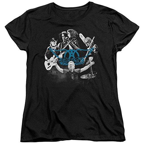Rock Des Femmes shirt N Ronde Black T Aerosmith TwqRF8ndT