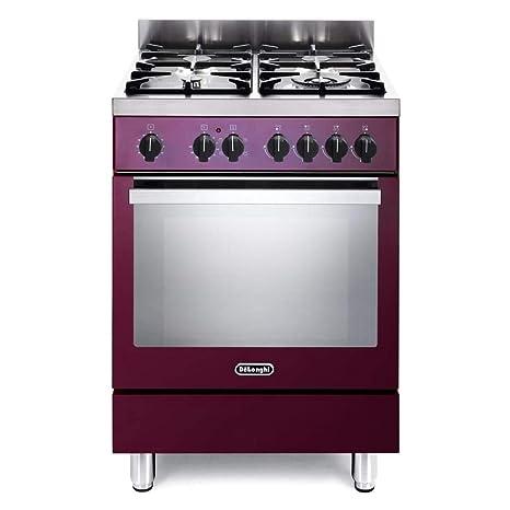 De Longhi DEMR 64 ED - Cocina de gas con horno eléctrico (60 x 60 ...