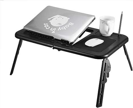 SSCEE Mesa Plegable Ajustable Soporte para Mesa para computadora ...