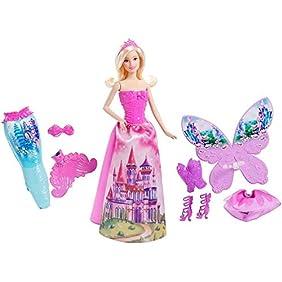 Barbie Fairytale Doll and Dress-up Set