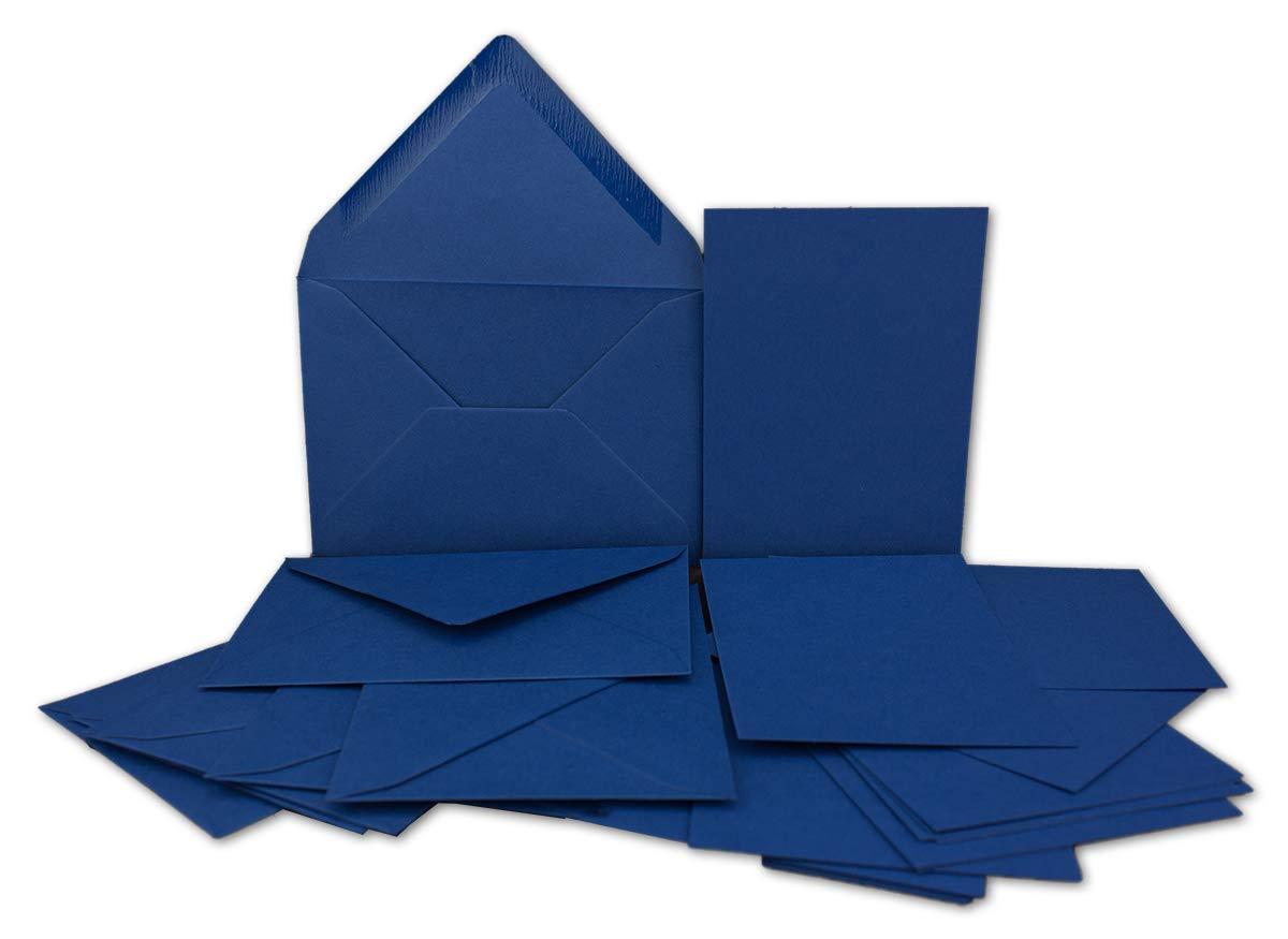 200x Stück Karte-Umschlag-Set Einzel-Karten Din Din Din A7 10,5x7,3 cm 240 g m² Dunkelgrün mit Brief-Umschlägen C7 Nassklebung ideale Geschenkanhänger B07MJ9R7ZZ   Verwendet in der Haltbarkeit  15e86b